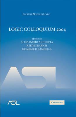 Logic Colloquium 2004 book
