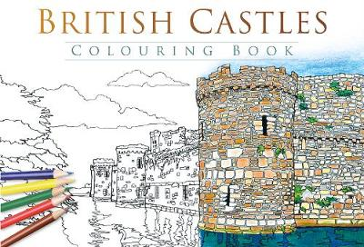 British Castles Colouring Book by