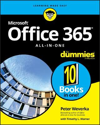Office 365 All-in-One For Dummies book