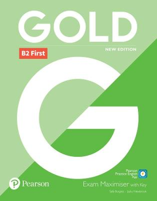 Gold B2 First New 2018 Edition Exam Maximiser with Key book