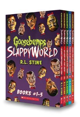 Goosebumps Slappyworld Books #1-5 by R,L Stine