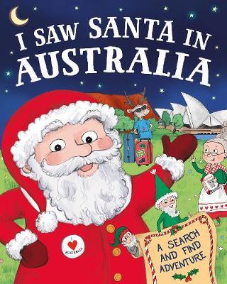I Saw Santa in Australia book