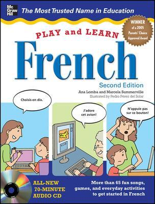 Play and Learn French with Audio CD by Ana Lomba