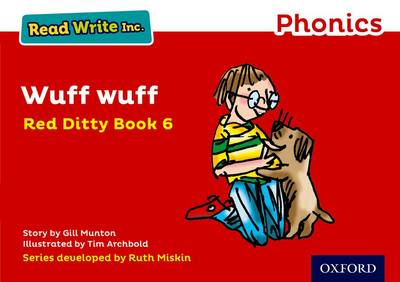 Read Write Inc. Phonics: Red Ditty Book 6 Wuff Wuff book