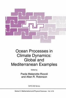 Ocean Processes in Climate Dynamics by Allan R. Robinson