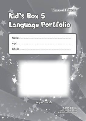 Kid's Box Level 5 Language Portfolio by Karen Elliott