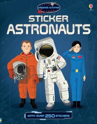 Sticker Astronauts by Struan Reid