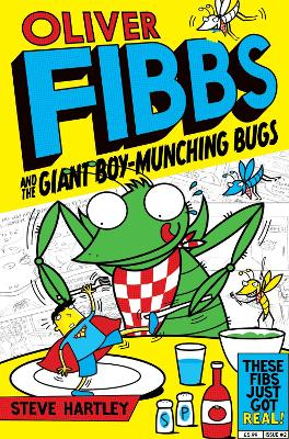 The Giant Boy-Munching Bugs by Steve Hartley