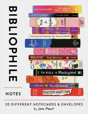 Bibliophile Notes: 20 Different Notecards & Envelopes by Chronicle Books