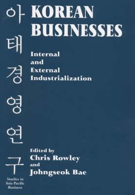 Korean Businesses by Chris Rowley