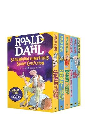 Roald Dahl's Scrumdiddlyumptious Story Collection by Roald Dahl