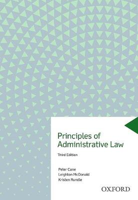 Principles of Administrative Law by Peter Cane