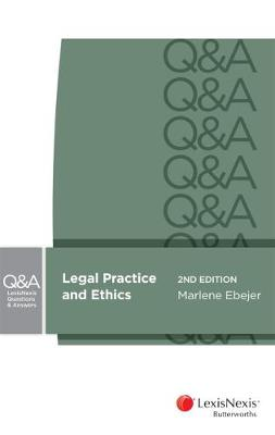 LexisNexis Questions and Answers: Legal Practice and Ethics book