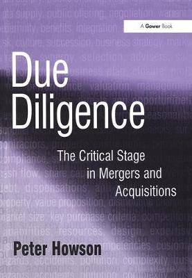 Due Diligence book