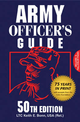 Army Officer's Guide by Keith E. Bonn