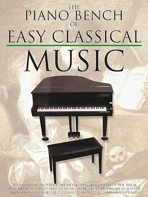 Piano Bench Of Easy Classical Music by Amy Appleby