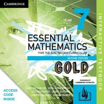 Essential Mathematics Gold for the Australian Curriculum Year 7 Digital (Card) by David Greenwood