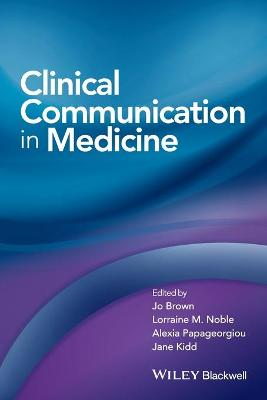 Clinical Communication in Medicine book