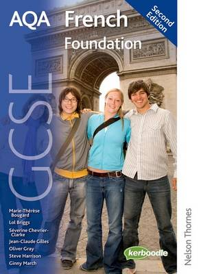 AQA GCSE French Higher Student Book by Oliver Gray