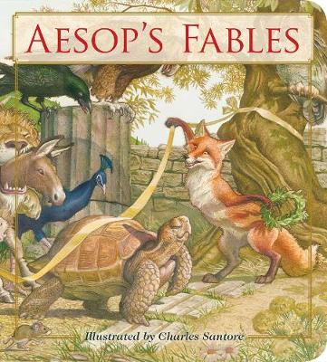 Aesop's Fables Oversized Padded Board Book: The Classic Edition book