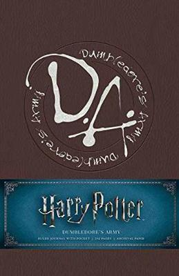 Harry Potter: Dumbledore's Army Hardcover Ruled Journal by Insight Editions