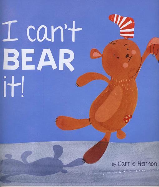 I Can't Bear It! book