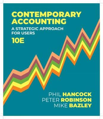 Contemporary Accounting: A Strategic Approach for Users book