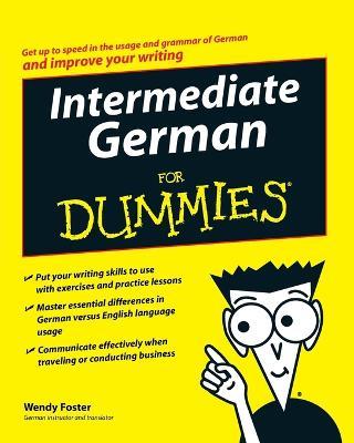 Intermediate German For Dummies book