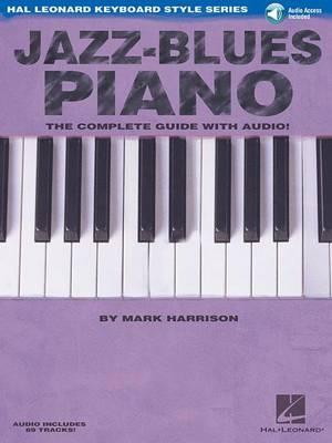 Jazz-Blues Piano (Book/Online Audio) by Mark Harrison