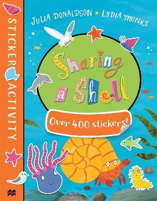 Sharing a Shell Sticker Book by Julia Donaldson