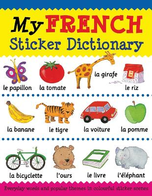 My French Sticker Dictionary book