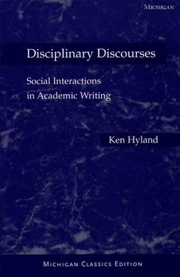Disciplinary Discourses by Ken Hyland