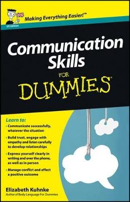 Communication Skills For Dummies by Elizabeth Kuhnke