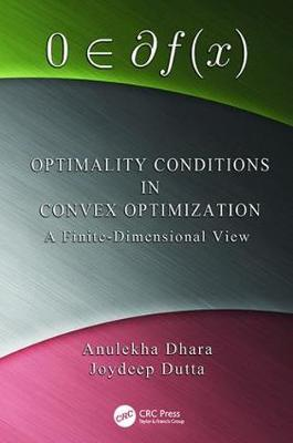 Optimality Conditions in Convex Optimization book