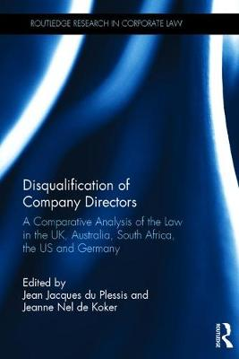 Disqualification of Company Directors by Jean Jacques Du Plessis