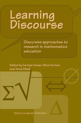 Learning Discourse by Anna Sfard
