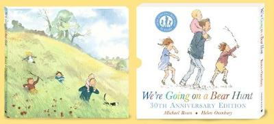 We're Going on a Bear Hunt 30th Anniversary Slipcase by Michael Rosen
