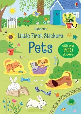 Little First Stickers Pets by Hannah Watson