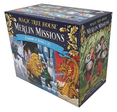 Magic Tree House Merlin Missions #1-25 Boxed Set by Mary Pope Osborne
