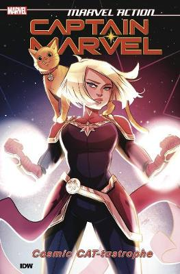 Marvel Action: Captain Marvel: Cosmic CAT-tastrophe: Book One by Sam Maggs