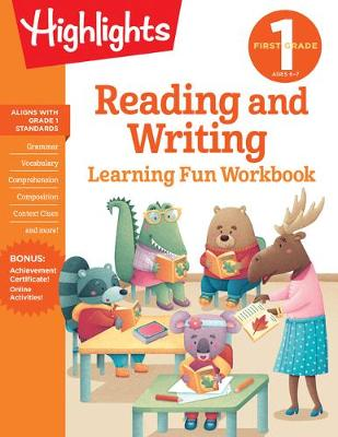 First Grade Reading and Writing book