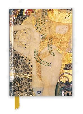 Gustav Klimt: Water Serpents I (Foiled Journal) by Flame Tree Studio