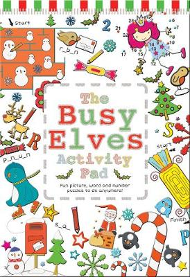 The Busy Elves Activity Pad Winter Wondeland book