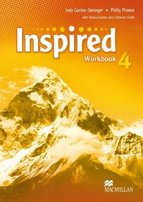 Inspired Level 4 Workbook by Philip Prowse