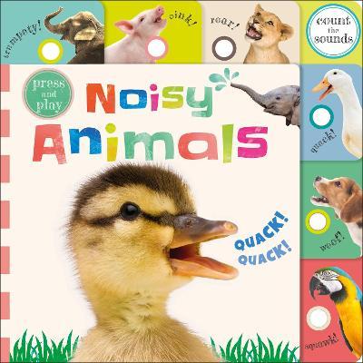 Press and Play Noisy Animals book
