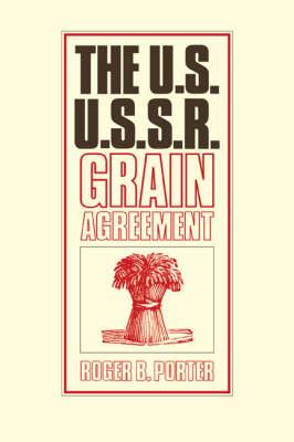 U.S.-U.S.S.R. Grain Agreement book