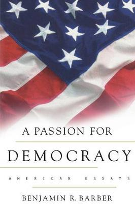 Passion for Democracy book