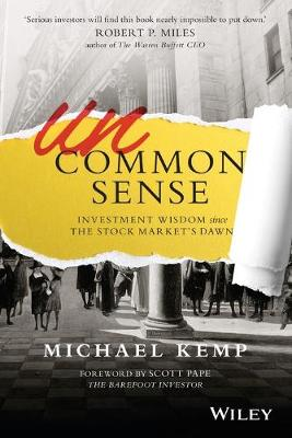 Uncommon Sense by Scott Pape