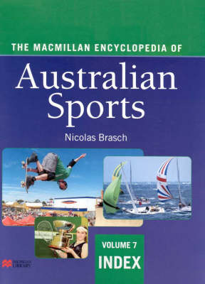 The Macm Encyc Aust Sports: in by Nicolas Brasch
