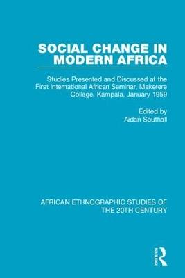 Social Change in Modern Africa book